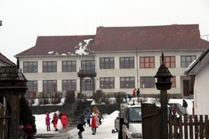 A Fejér Ákos Általános Iskola. Albert Levente felvétele