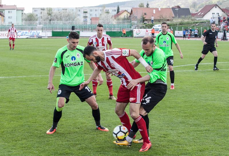 Labdarúgás, I. liga - A piros-fehérek először nyertek élvonalbeli meccset a szemerjai stadionban