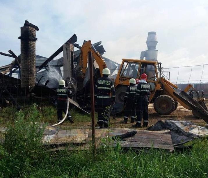 Leégett egy fafeldolgozó (Nagybacon)
