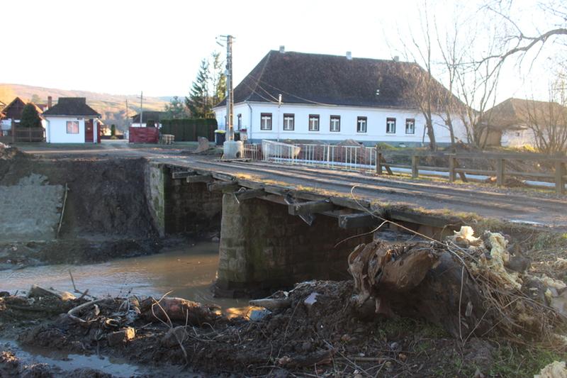 Hídépítésre kaptak pénzt (Barót)