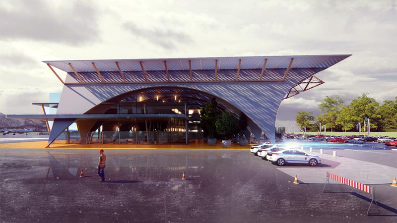Vidombáki nemzetközi repülőtér - Három éven belül elkészül
