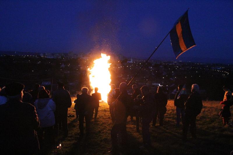 Őrtüzek Háromszéken - Bukarestig világítson a láng!