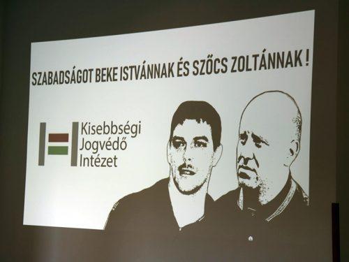 Konferencia Beke István és Szőcs Zoltán igazáért