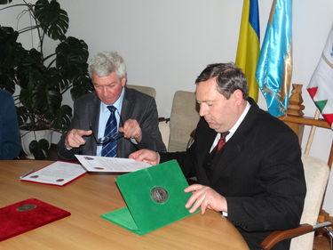 Almási István és Dimény Zoltán. Albert Levente felvétele