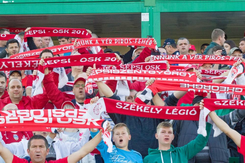 Vezetett a Sepsi OSK, majd három gólt kapott (Labdarúgás, 1. Liga)