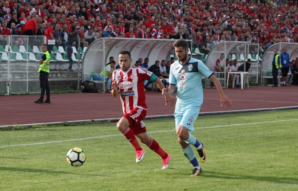 Labdarúgás, I. liga - Zsinórban harmadszor győzött a Sepsi OSK
