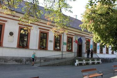 A községháza. Fotó: Albert Levente